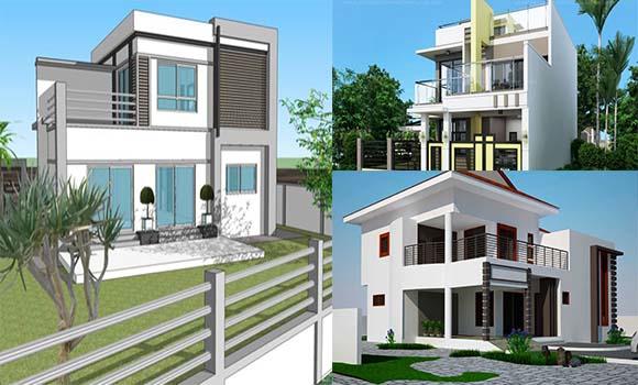 Cara Menghitung Biaya Bangunan 2 Lantai HCO